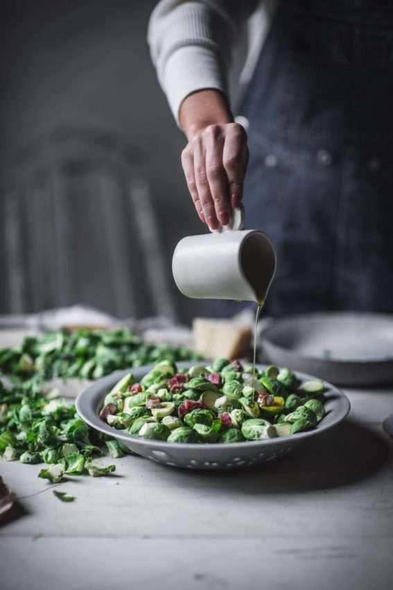 """How to Make Roasted Brussel Sprouts #foodphotography explore Pinterest""""> #foodphotography #foodstyling explore Pinterest""""> #foodstyling"""