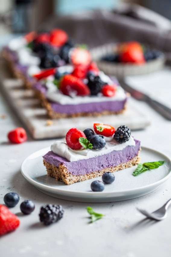 "Berry Cheesecake #vegan explore Pinterest""> #vegan"