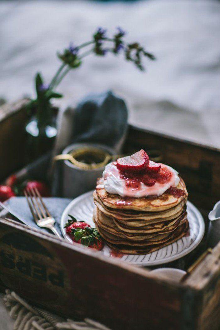 Pfannkuchen-mehrstöckige-torte