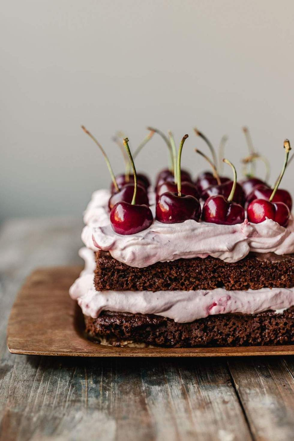 VEGAN BLACK FOREST CHERRY CREAM CAKE – My Berry Forest