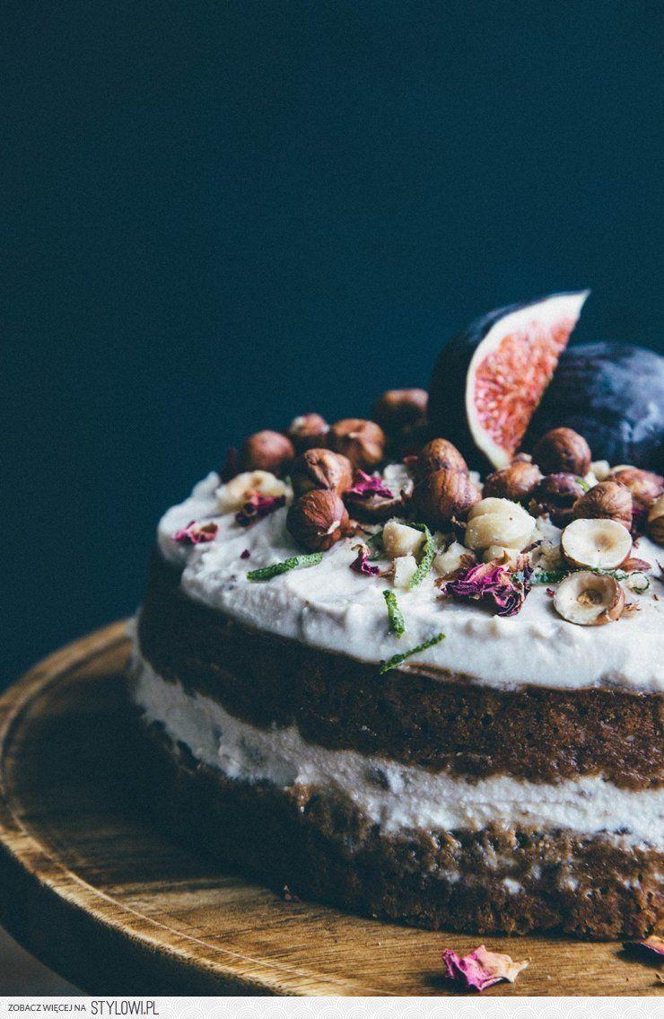Rose, lime & chai cake with banana and hazelnuts – a yo… na